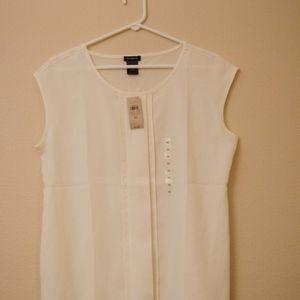 NEW Ann Taylor sleeveless shirt